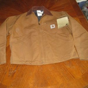 NEW Vtg Carhartt Jacket Blanket Lined Barn Duck 42